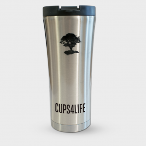 Silver Chrome Cup
